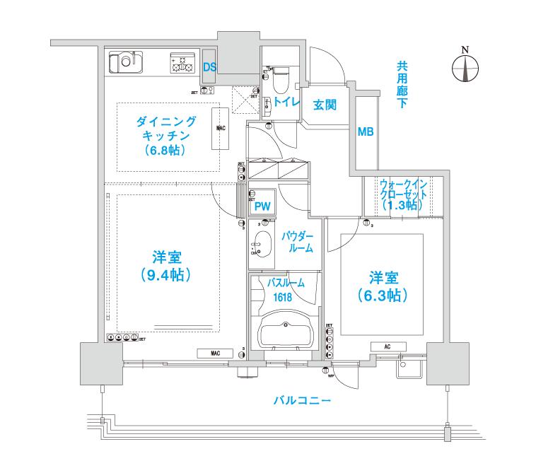 H-2 layout image