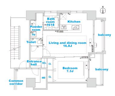 A-4 layout image