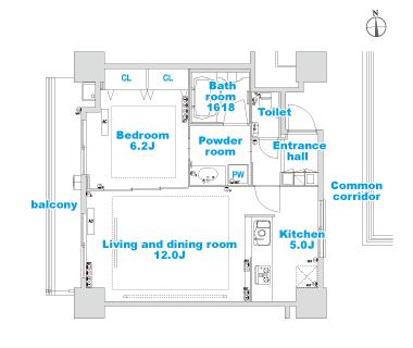 B-1 layout image