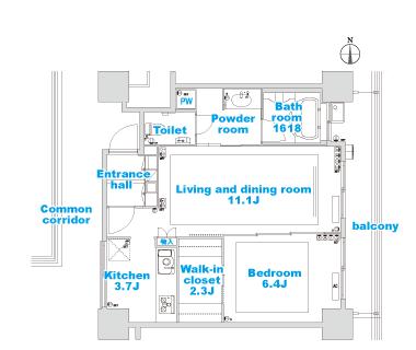 B-4 layout image