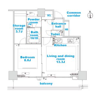 E-1 layout image