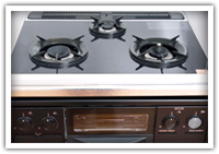 Glass top stove