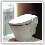 No-tank toilet