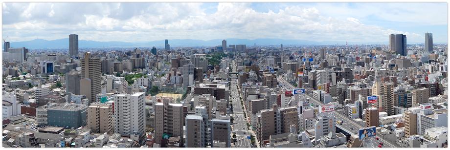 South side view (Toward Tennoji area)